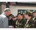 Prince Charles and the local cadets